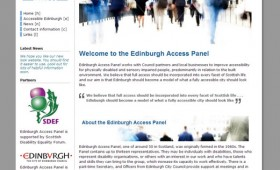 Edinburgh Access Panel homepage