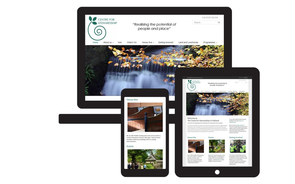 Falkland Centre for Stewardship website
