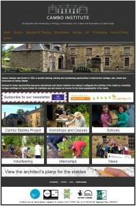 Cambo Institute website